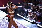 Victoria's Secret model Selita Ebanks walks the runway at the Victoria's Secret fashion show in Hollywood